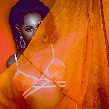 Tribal Goddess by MegatronLuva