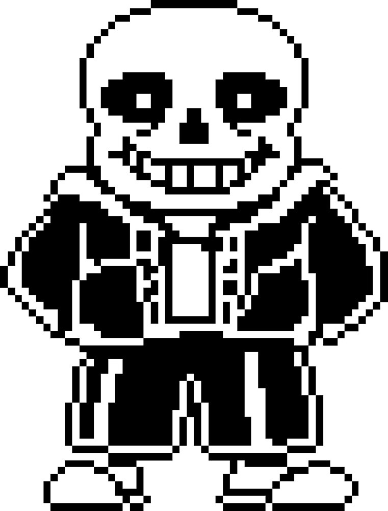 Sans from Undertale by whomadewhat