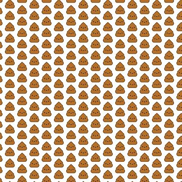 Kawaii Poop Pattern by imaginarystory