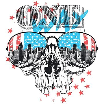 America Skull - One Way by gulugulu