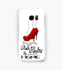 Red heels lyrics Samsung Galaxy Case/Skin