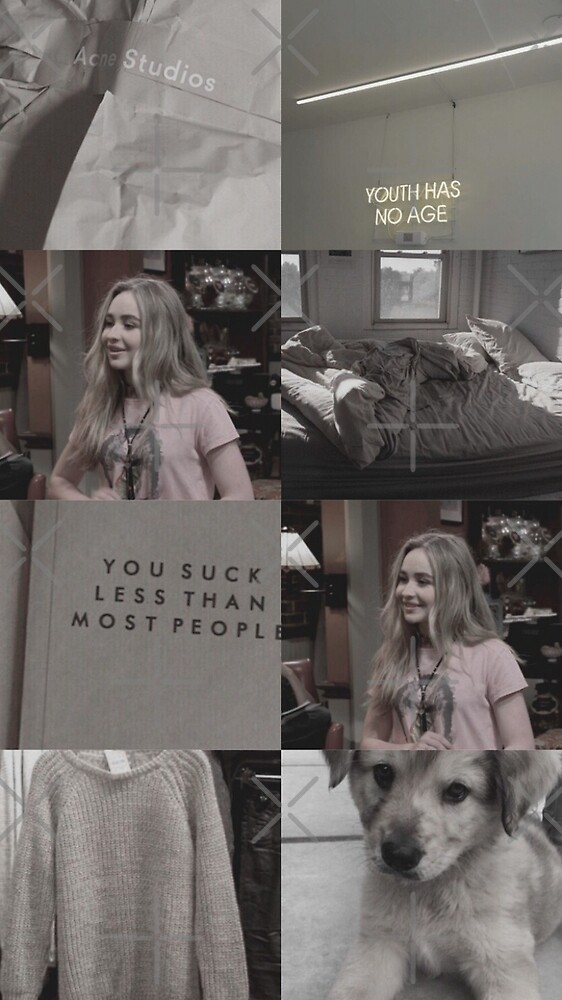 Sabrina Carpenter (collage) by aesthtic