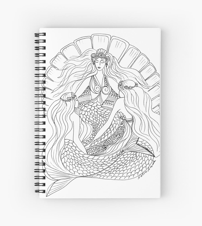 Derceto – ancient Palestine #Mermaid by aveela