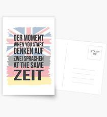 Der Moment (Brit Version) Postcards