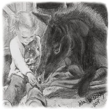 Horse & Child by jmac64