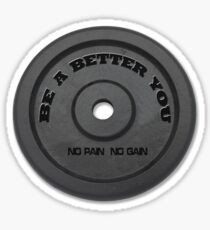 Be a better you Sticker