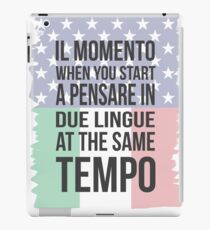 Il Momento (Yank Version) iPad Case/Skin