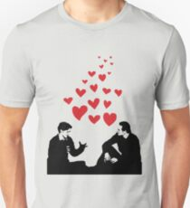 Cherik in the Field with Hearts T-Shirt