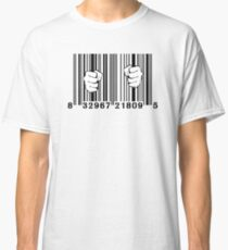 Captured By Consumerism UPC Barcode Prison Classic T-Shirt