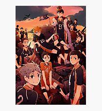 Team Karasuno - Haikyuu  Photographic Print