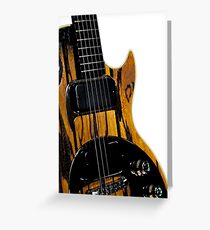 Gibson Guitar Greeting Card
