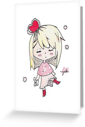 Love sick chibi girl by GailYukino