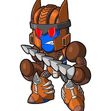 Lil Dino Robot by mattmoylan