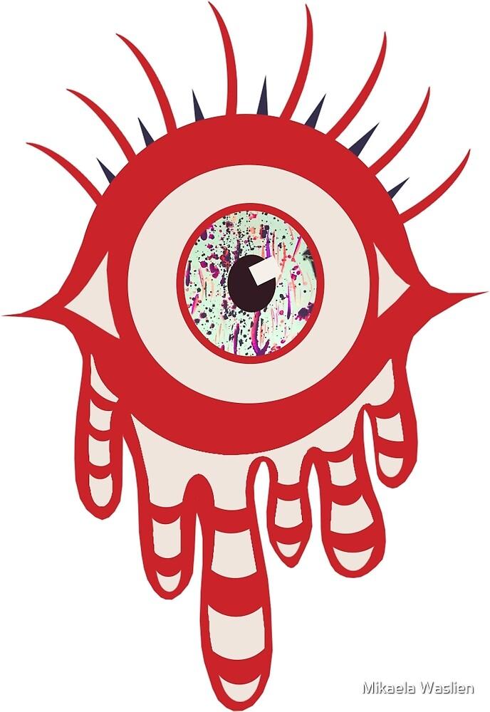 Evil Eye by Mikaela Waslien