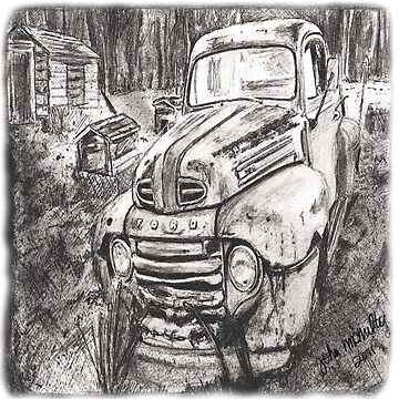 Classic Ford Pick-up by jmac64