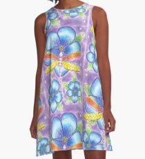 libellule A-Line Dress