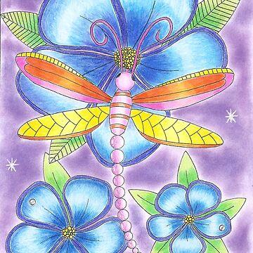 dragonfly by yayamerino