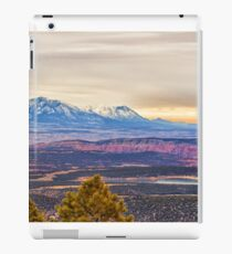 Snowcapped moutains iPad Case/Skin