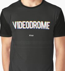 Videodrome VHS Title Screen Graphic T-Shirt