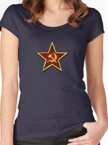 Soviet Gold Star Women's Fitted Scoop T-Shirt