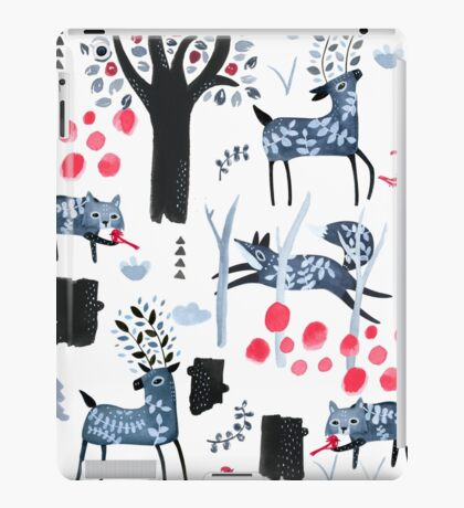 Frosted Forest iPad Case/Skin