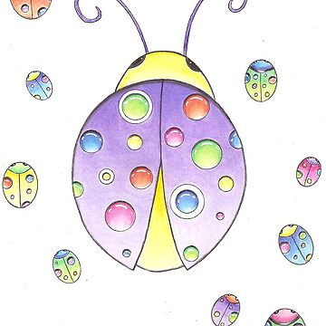 ladybugs by yayamerino