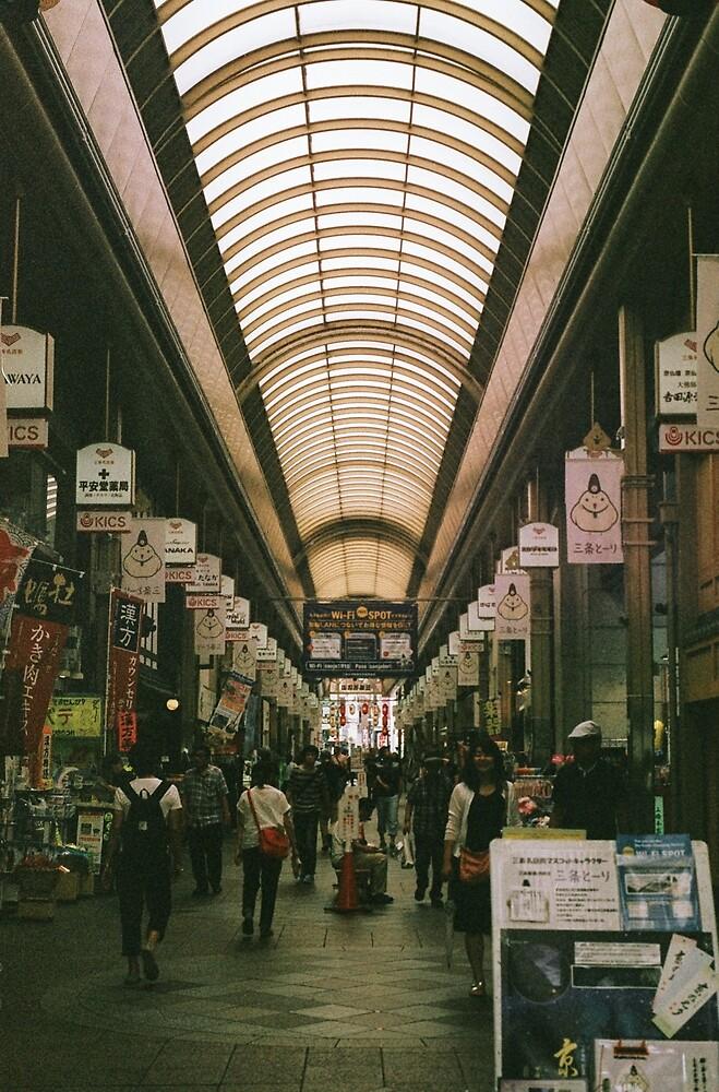 Nishiki Market (錦市場)  by Michael Stocks