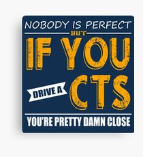 Cadillac CTS Canvas Print