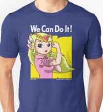 She can do it! Unisex T-Shirt