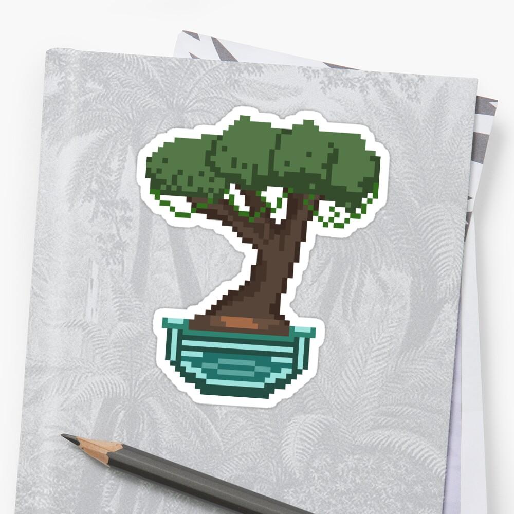8-Bit Bonsai Tree by Spiritpotato