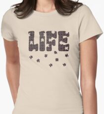 The Puzzle Of Life Womens Fitted T-Shirt