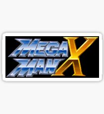 Mega Man X (SNES Title Screen) Sticker