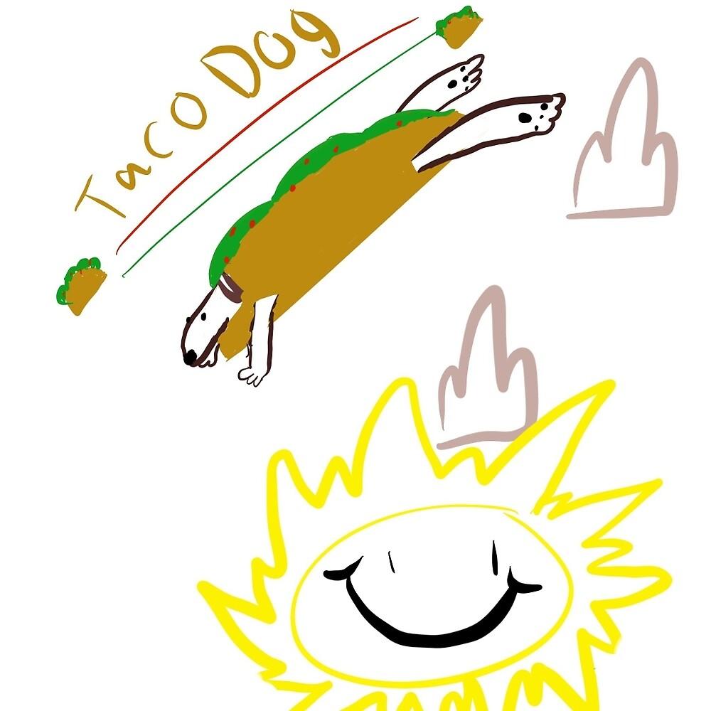 Taco Dog by WalksRocks