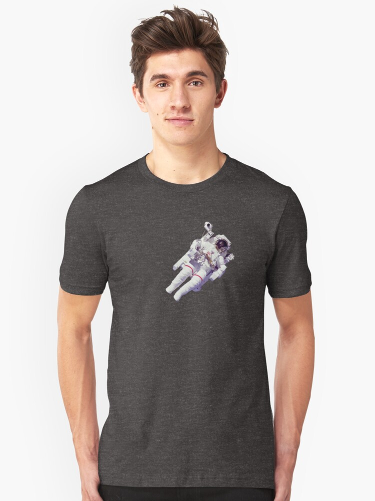 Astonaut Lost in Space Unisex T-Shirt Front