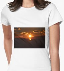 Partial Solar Eclipse 2 Women's Fitted T-Shirt