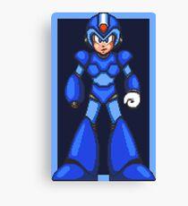 Mega Man X (SNES) Canvas Print