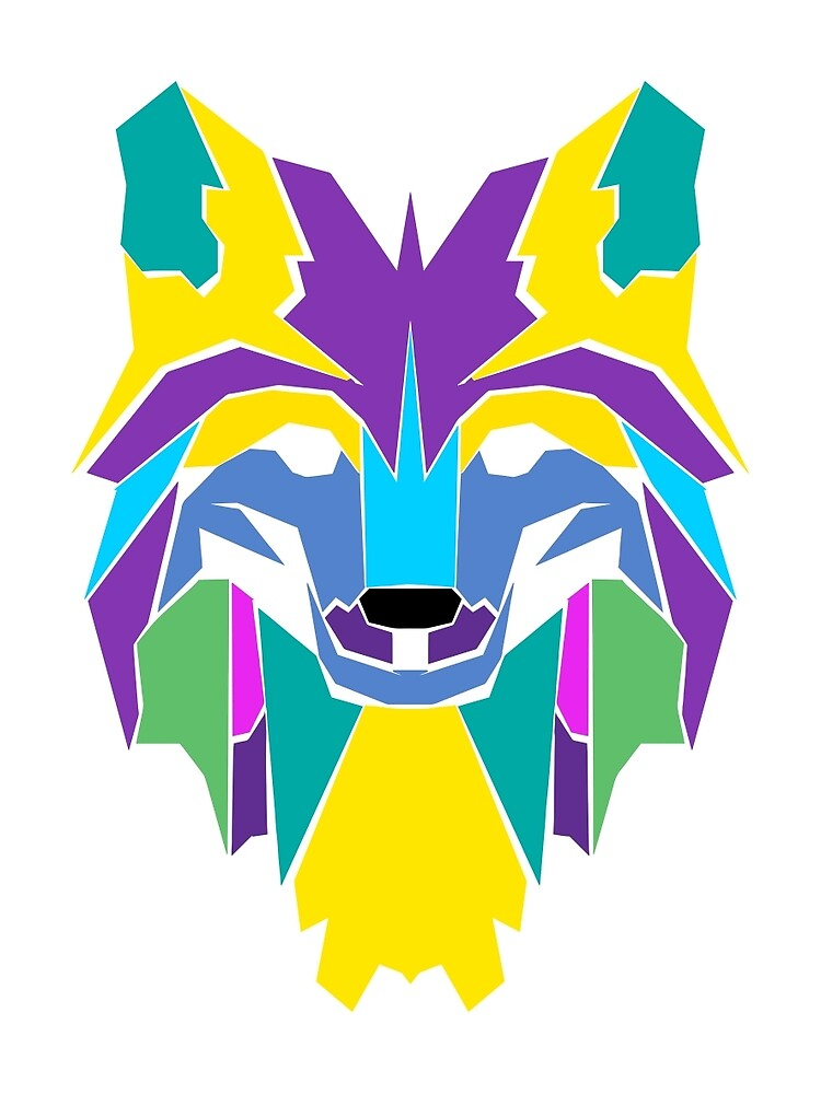 The Tangram Wolf by tomasmc
