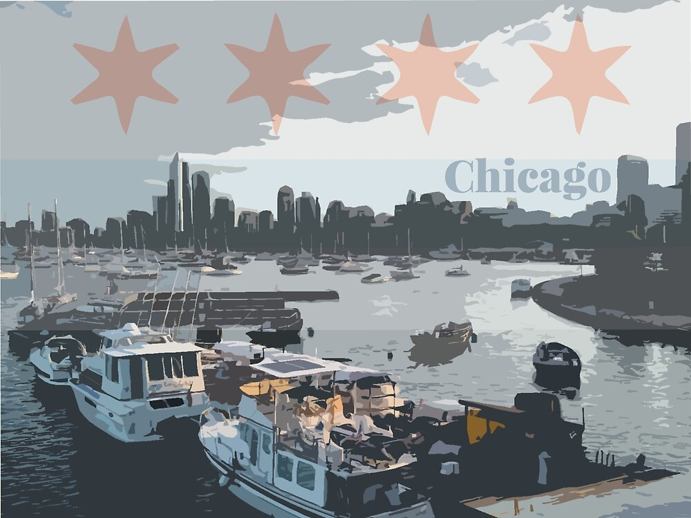 Chicago from the Harbor by kylebernier