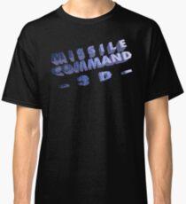 Missile Command 3D (Jaguar Title Screen) Classic T-Shirt