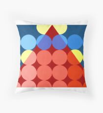 Abstract transparency design #1 Throw Pillow