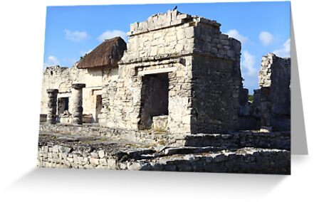 Ruins of Tulum by zumi
