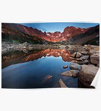 Lake Isabelle Sunrise Poster