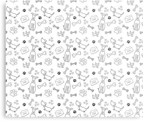 Dog print by dogobsession