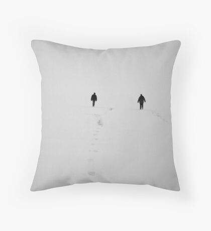 Into Nothing Throw Pillow