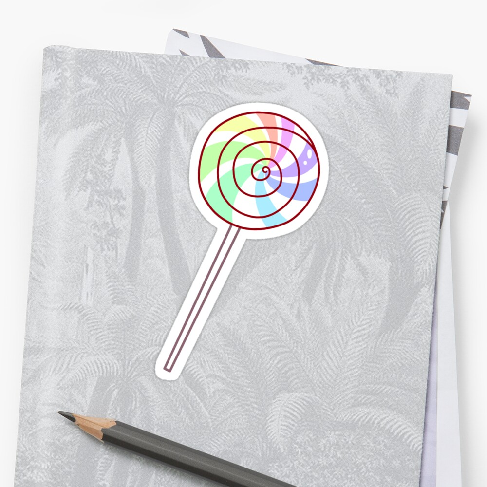 Pastel Rainbow Lollipop by SaradaBoru