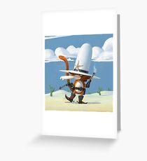 Tzika - Cowboy Greeting Card