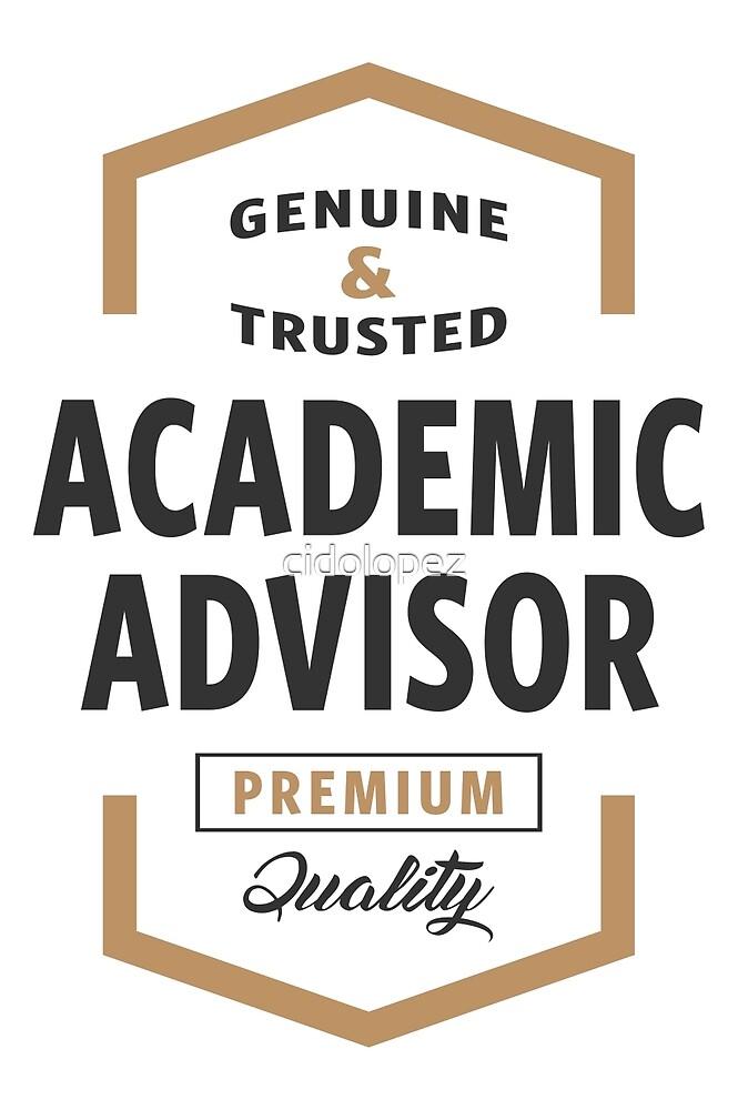 Academic Advisor Logo Tees by cidolopez