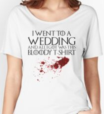 Bloody Wedding Women's Relaxed Fit T-Shirt