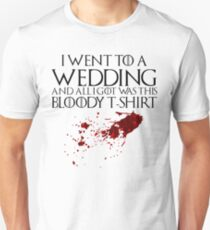 Bloody Wedding T-Shirt