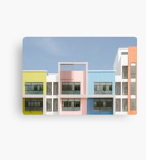Urban pastels Canvas Print